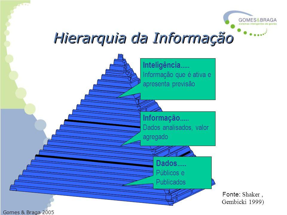 Hierarquia da Informação