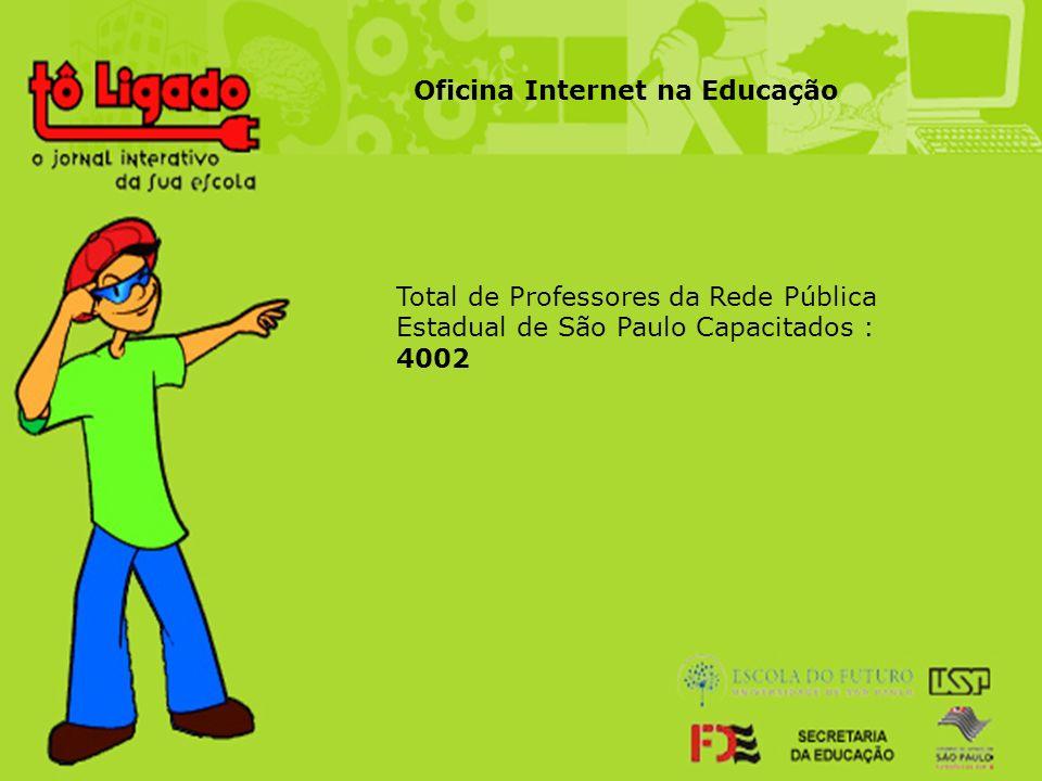 Oficina Internet na Educação