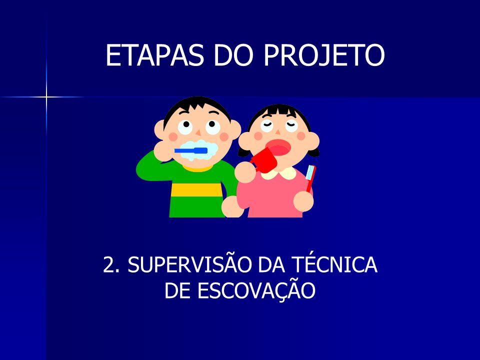 2. SUPERVISÃO DA TÉCNICA DE ESCOVAÇÃO