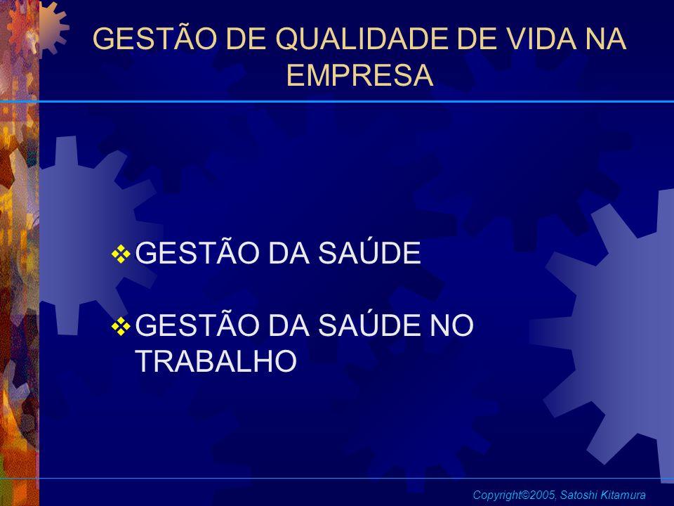 GESTÃO DE QUALIDADE DE VIDA NA EMPRESA