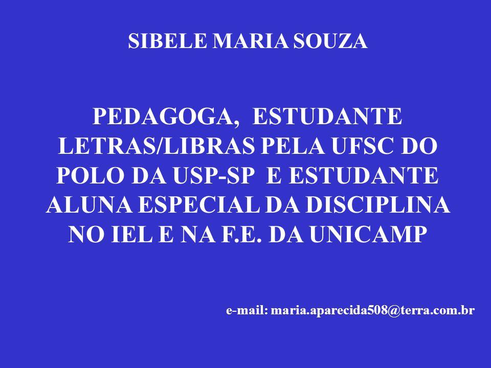 SIBELE MARIA SOUZA