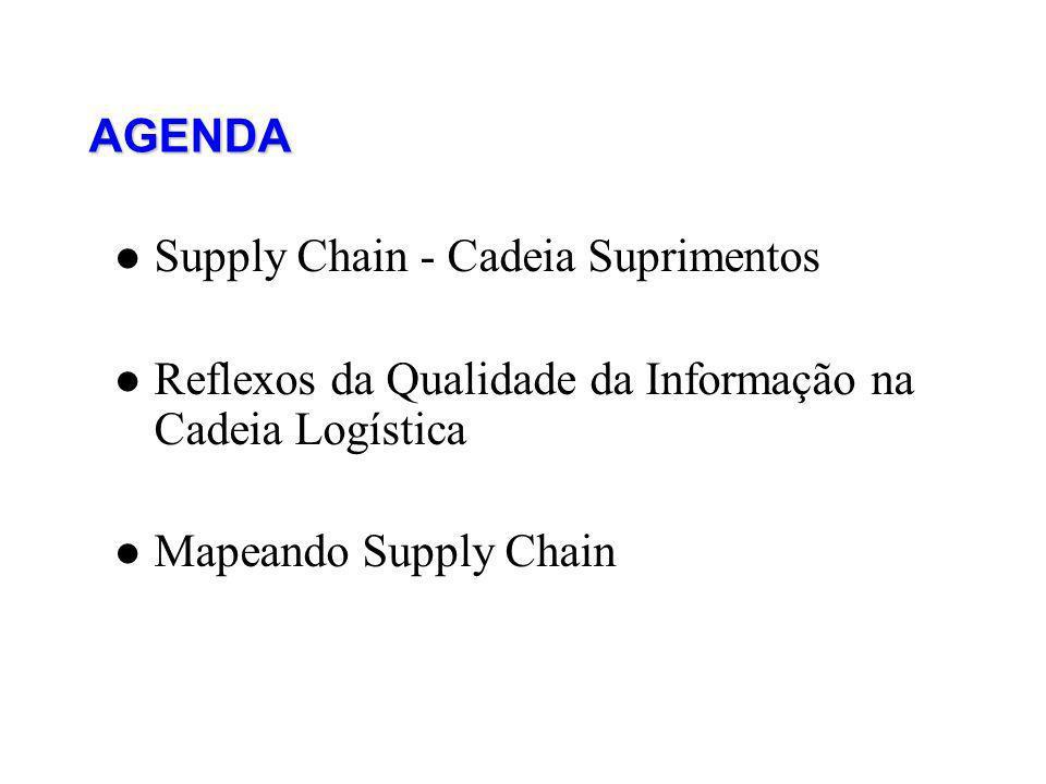 AGENDA Supply Chain - Cadeia Suprimentos. Reflexos da Qualidade da Informação na Cadeia Logística.