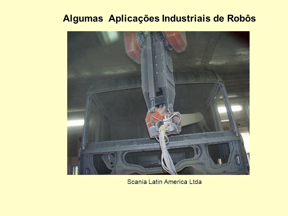 Algumas Aplicações Industriais de Robôs