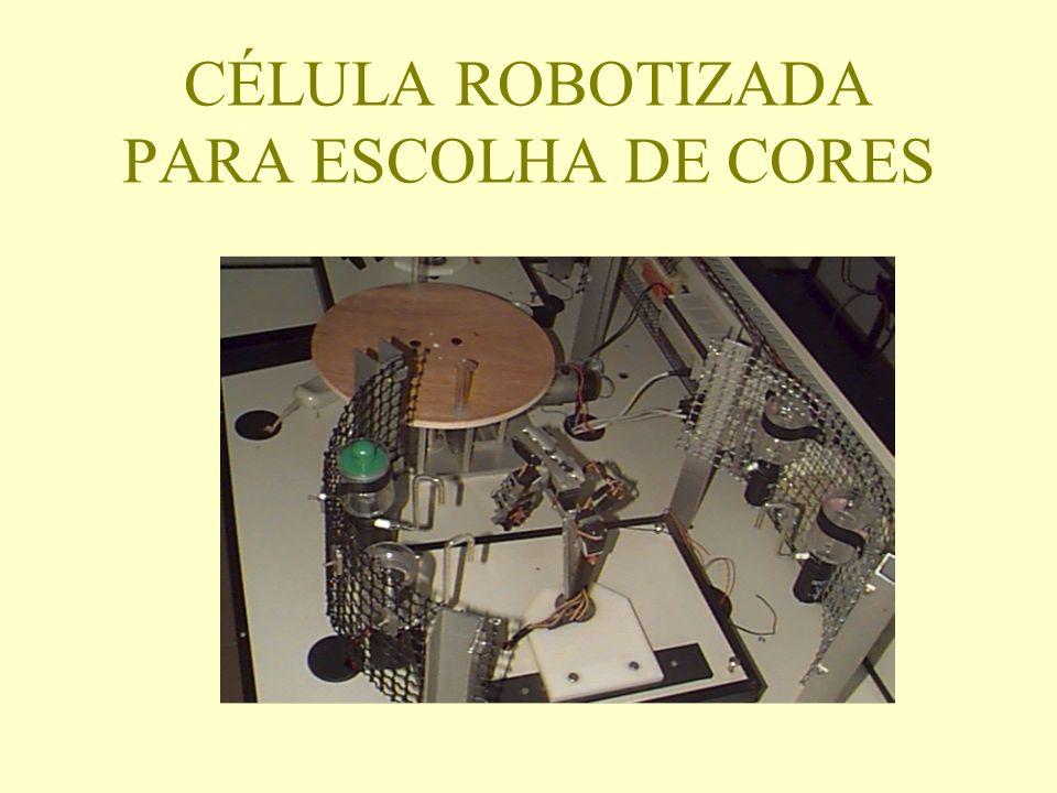 CÉLULA ROBOTIZADA PARA ESCOLHA DE CORES