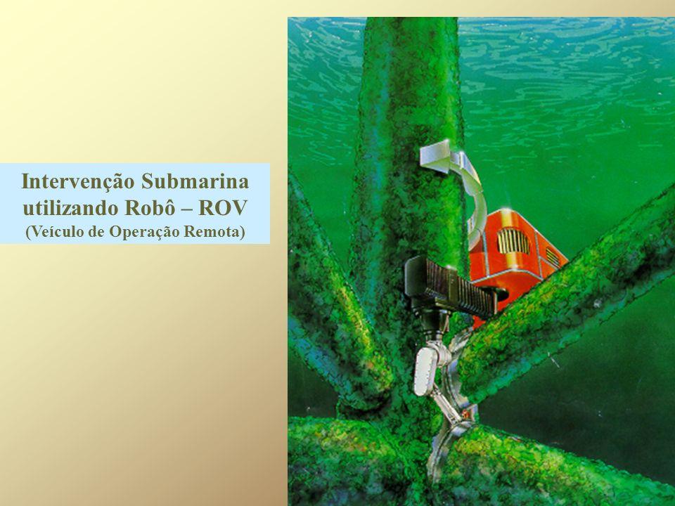 Intervenção Submarina utilizando Robô – ROV (Veículo de Operação Remota)