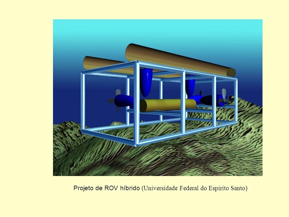 Projeto de ROV híbrido (Universidade Federal do Espirito Santo)
