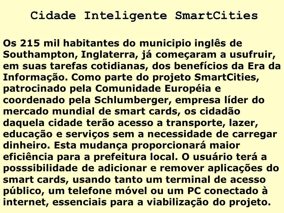 Cidade Inteligente SmartCities