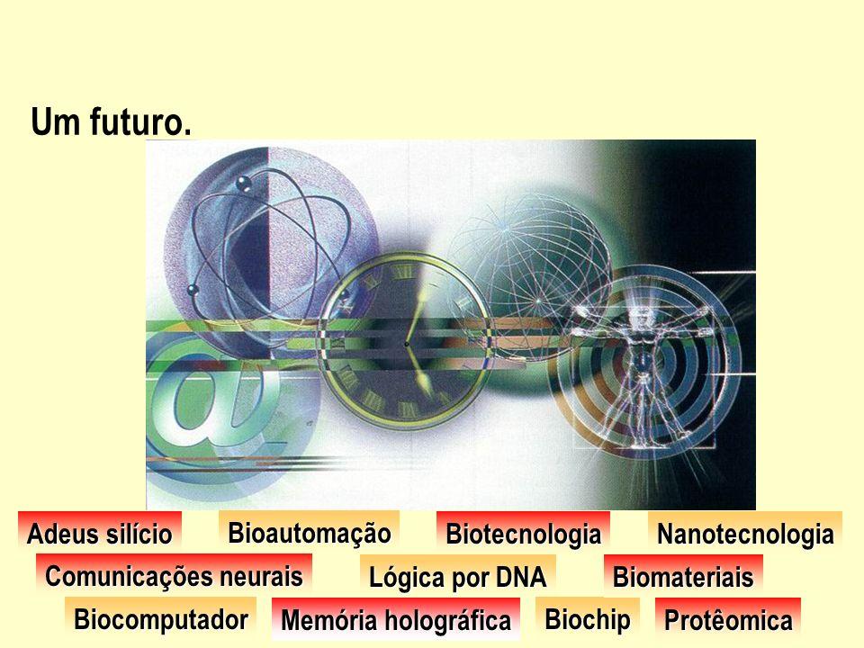 Um futuro. Adeus silício Bioautomação Biotecnologia Nanotecnologia