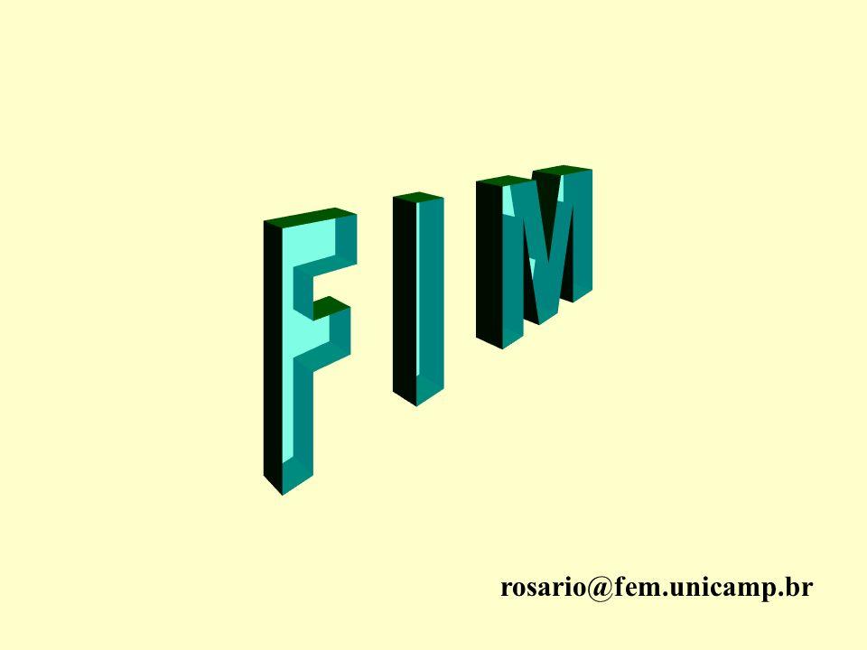 F I M rosario@fem.unicamp.br