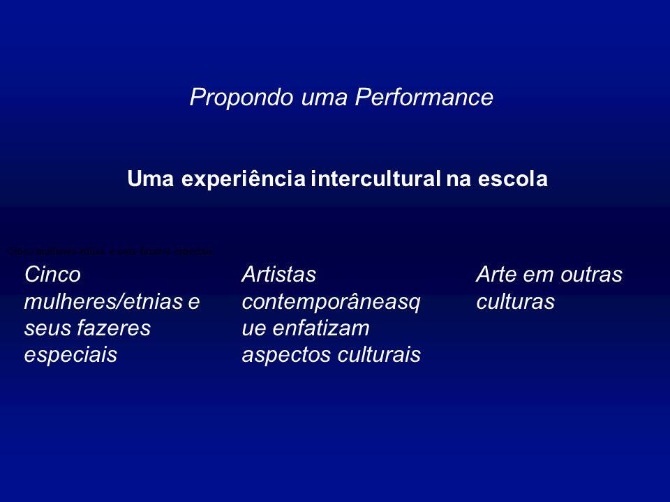 Uma experiência intercultural na escola