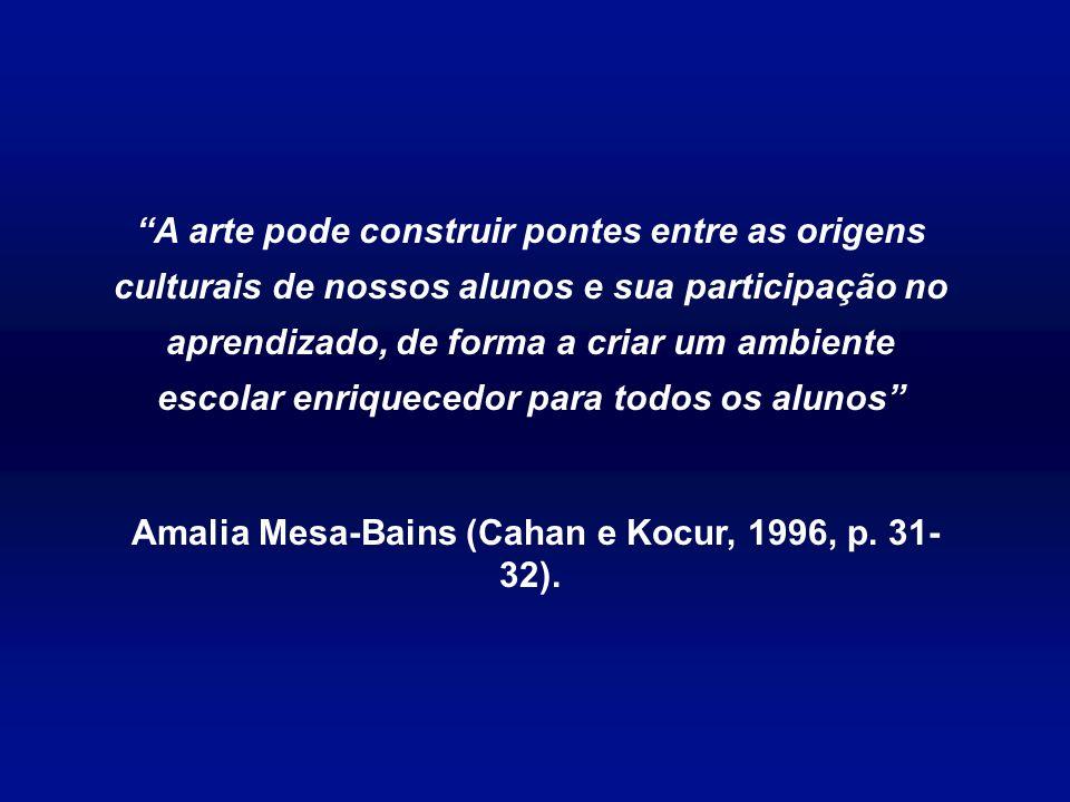 Amalia Mesa-Bains (Cahan e Kocur, 1996, p. 31-32).
