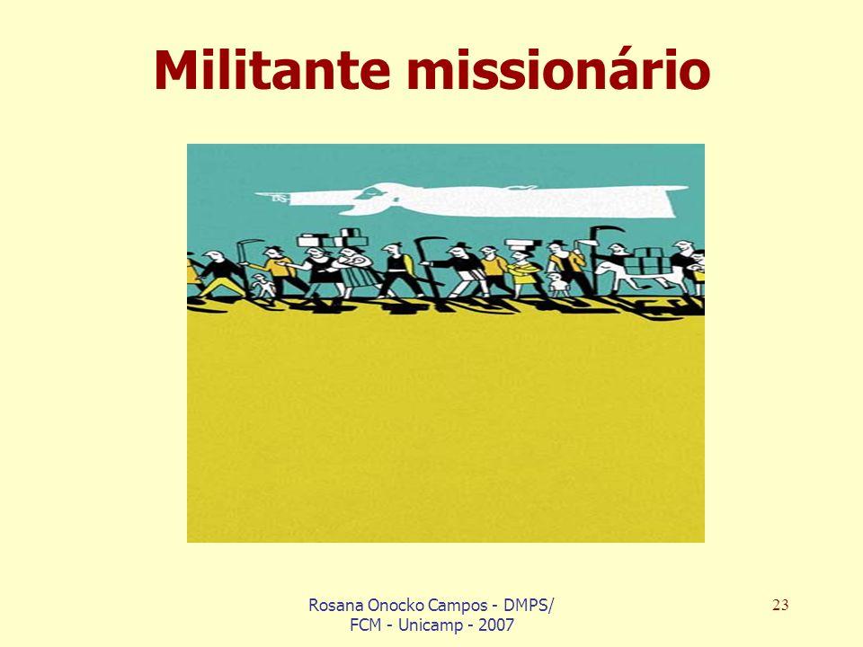 Militante missionário