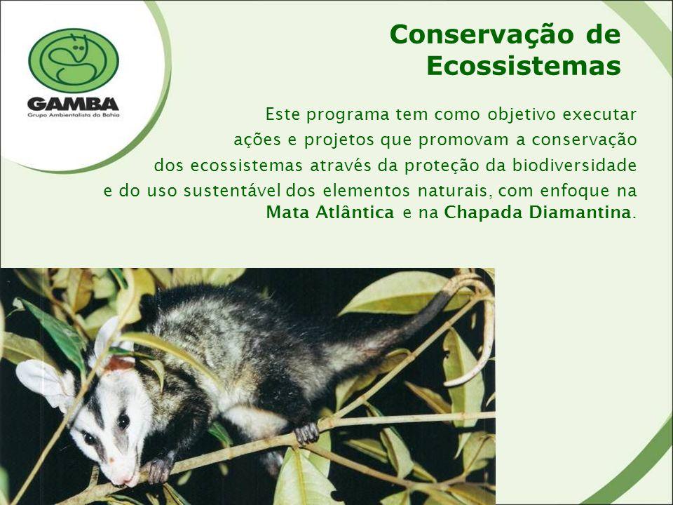 Conservação de Ecossistemas
