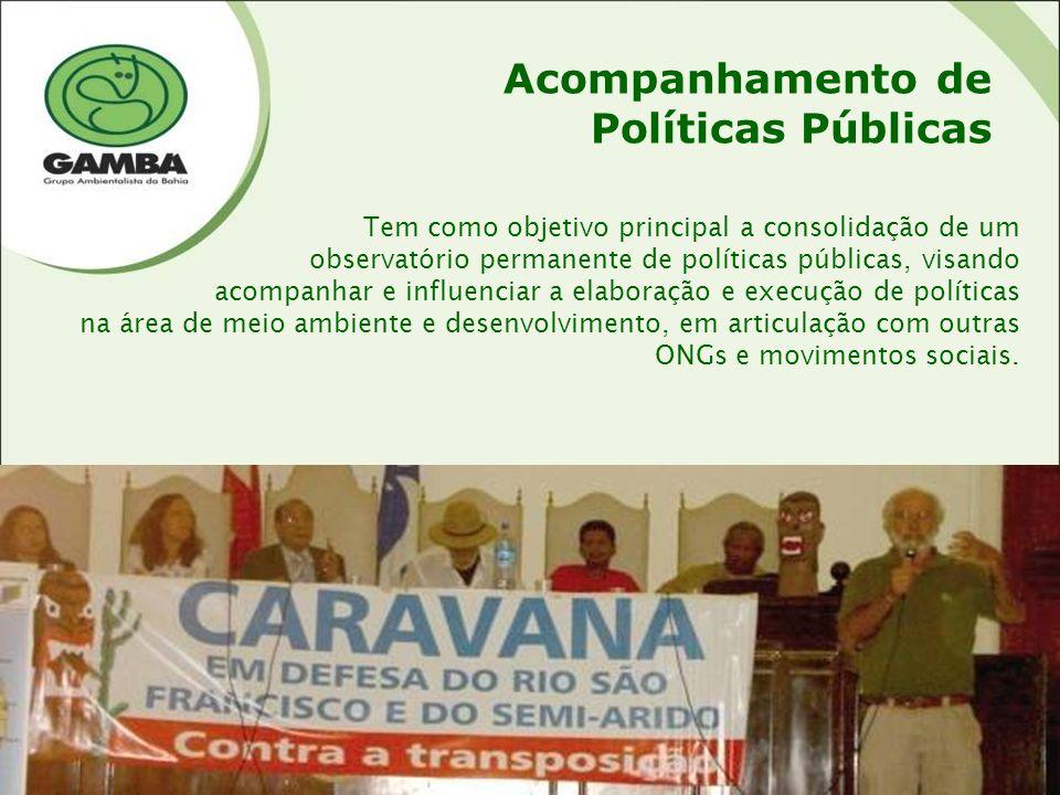 Acompanhamento de Políticas Públicas