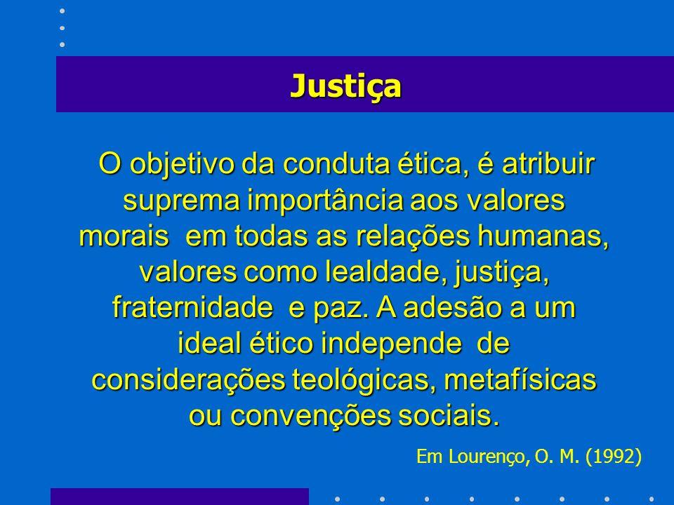 Justiça Em Lourenço, O. M. (1992)