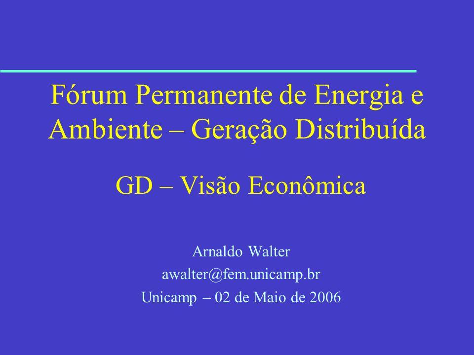 Fórum Permanente de Energia e Ambiente – Geração Distribuída