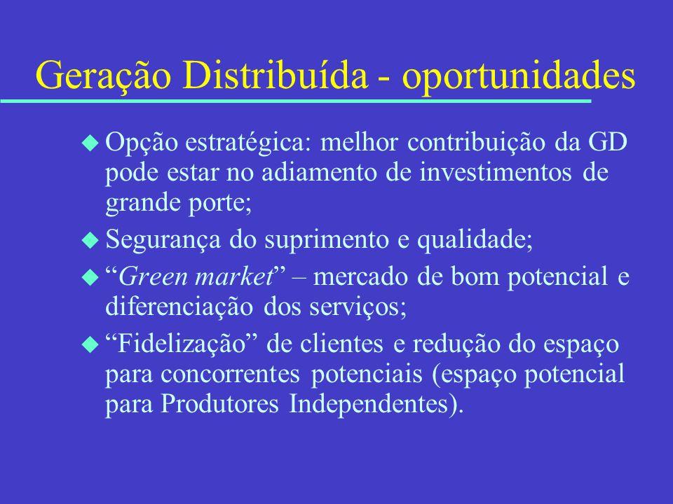 Geração Distribuída - oportunidades