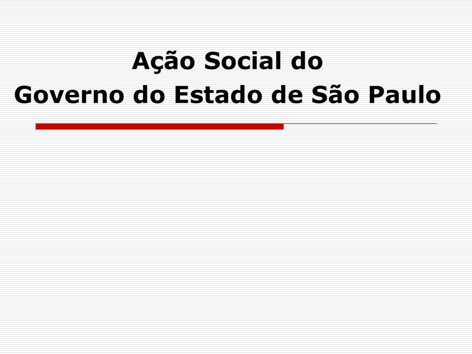 Ação Social do Governo do Estado de São Paulo
