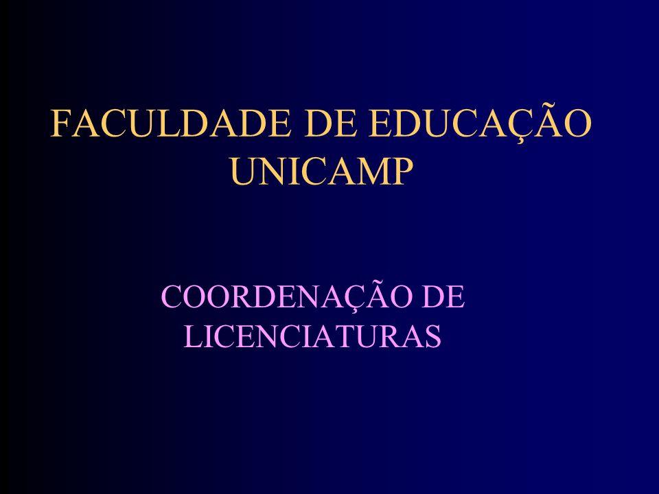 FACULDADE DE EDUCAÇÃO UNICAMP