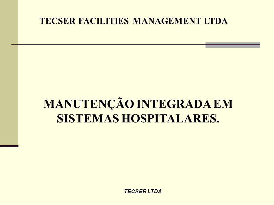 MANUTENÇÃO INTEGRADA EM SISTEMAS HOSPITALARES.