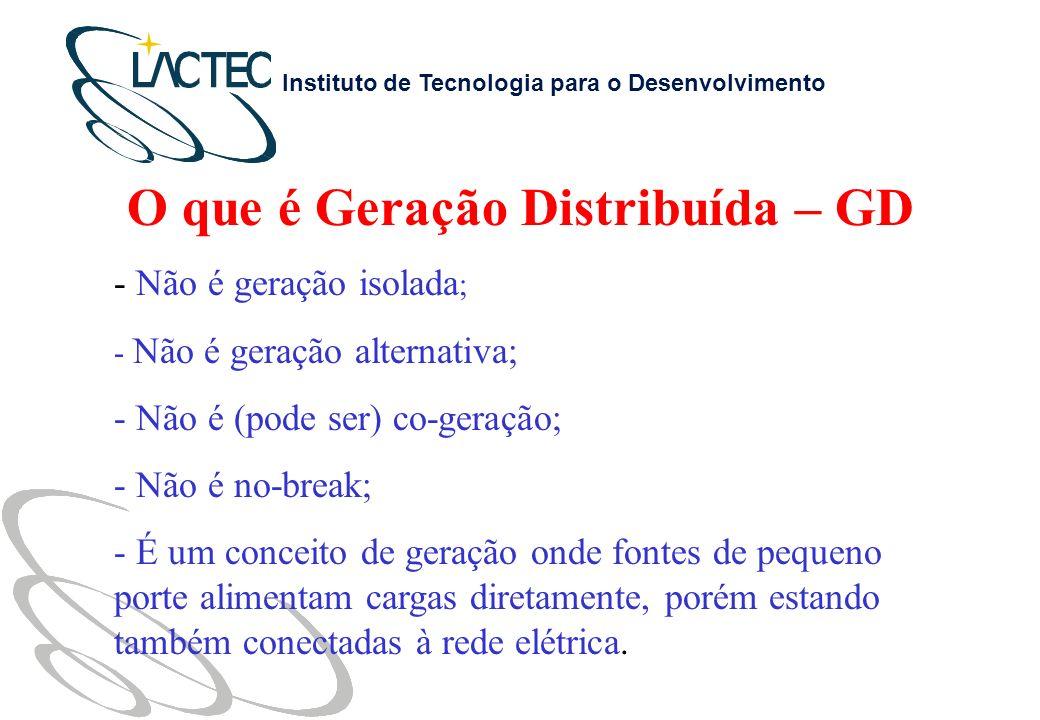O que é Geração Distribuída – GD