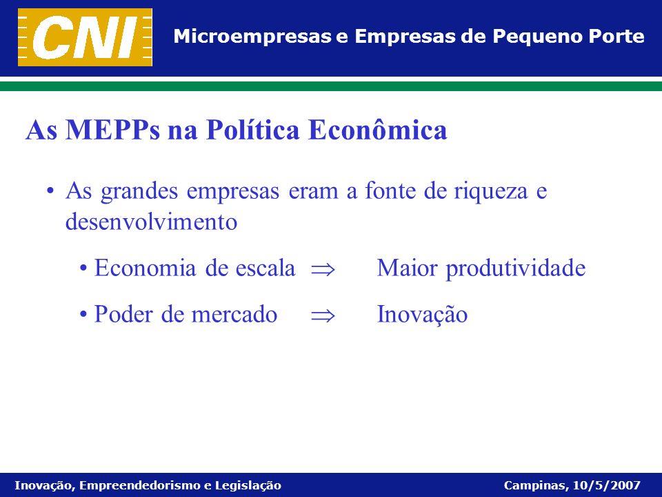 As MEPPs na Política Econômica