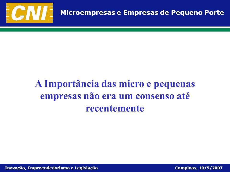 A Importância das micro e pequenas empresas não era um consenso até recentemente