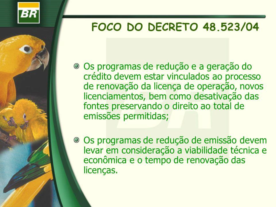 FOCO DO DECRETO 48.523/04