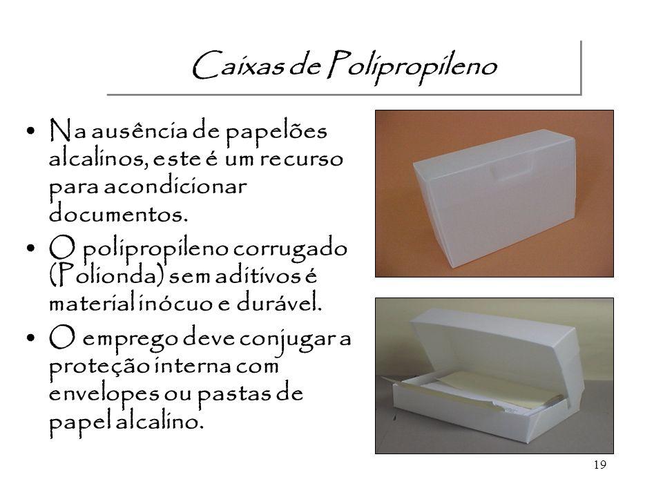 Caixas de Polipropileno