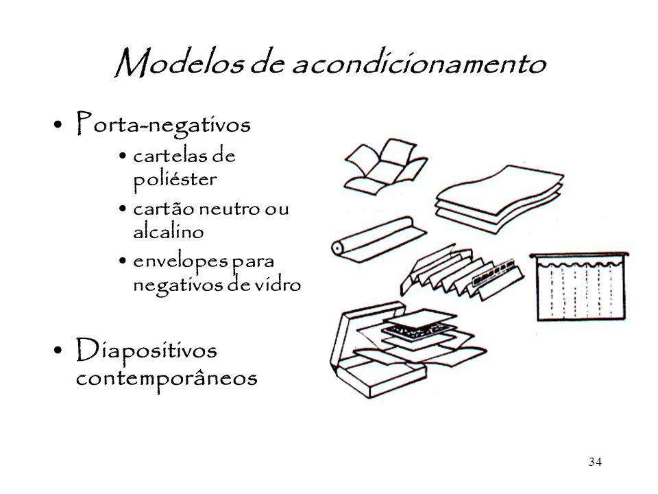 Modelos de acondicionamento