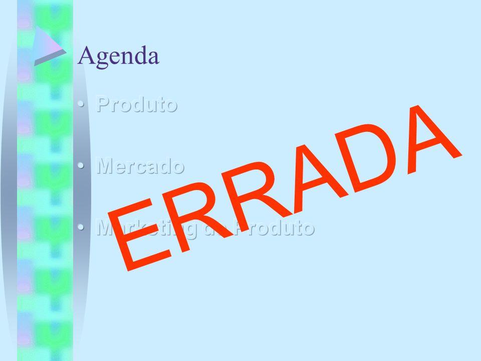 Agenda Produto Mercado Marketing de Produto ERRADA