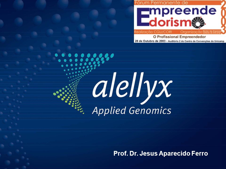 Prof. Dr. Jesus Aparecido Ferro