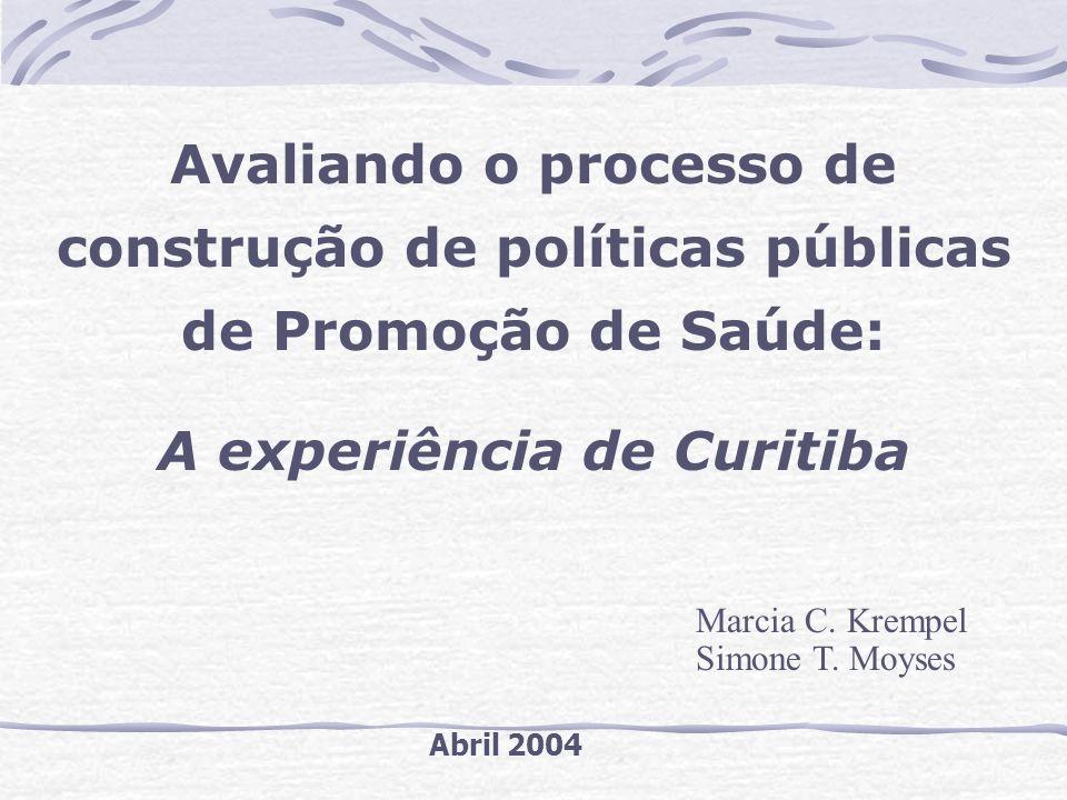 A experiência de Curitiba