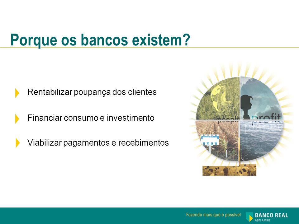 Porque os bancos existem