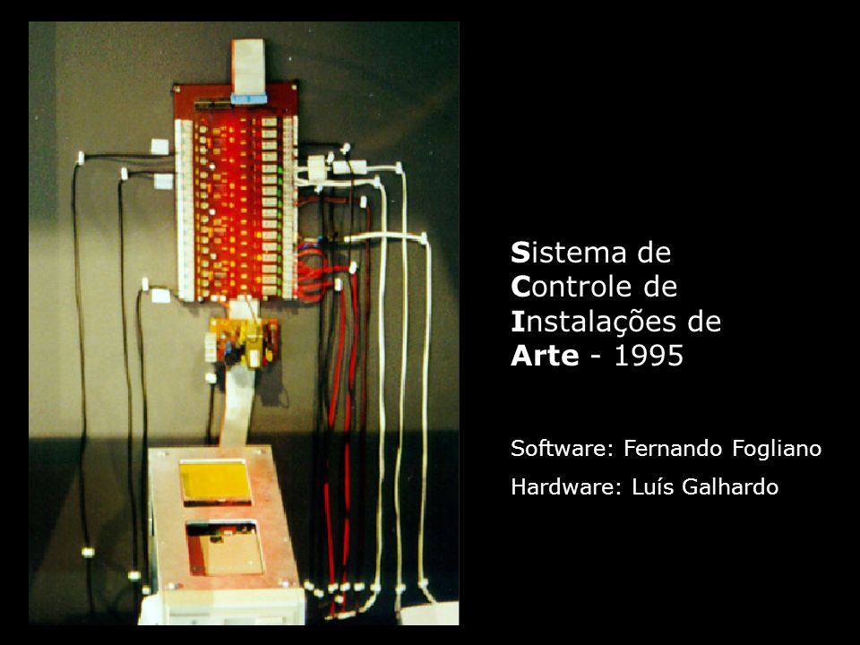 Sistema de Controle de Instalações de Arte - 1995