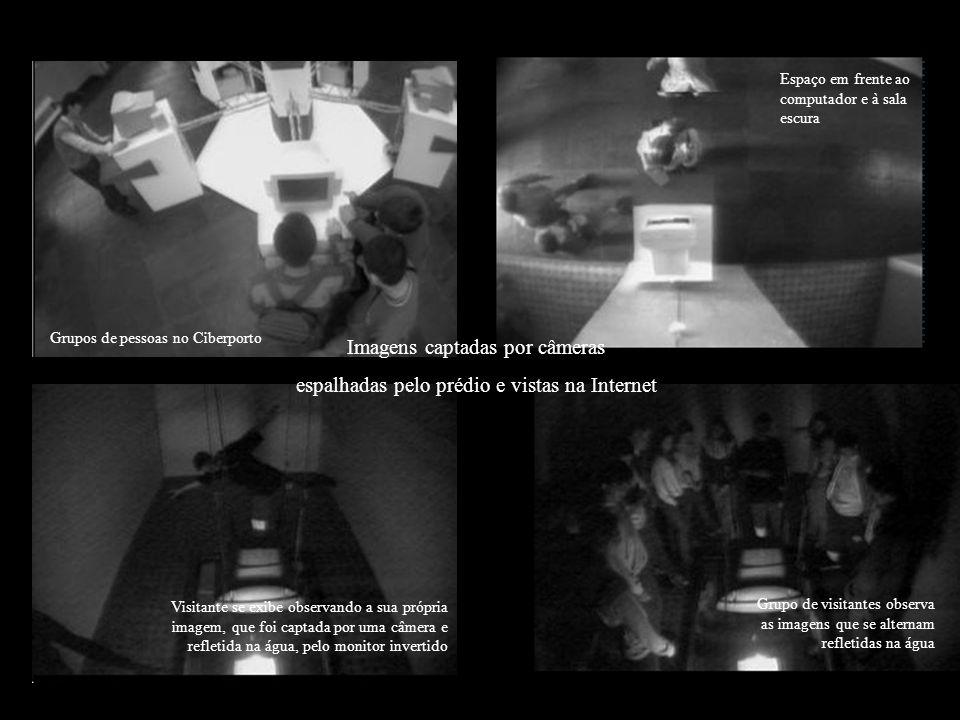 Imagens captadas por câmeras