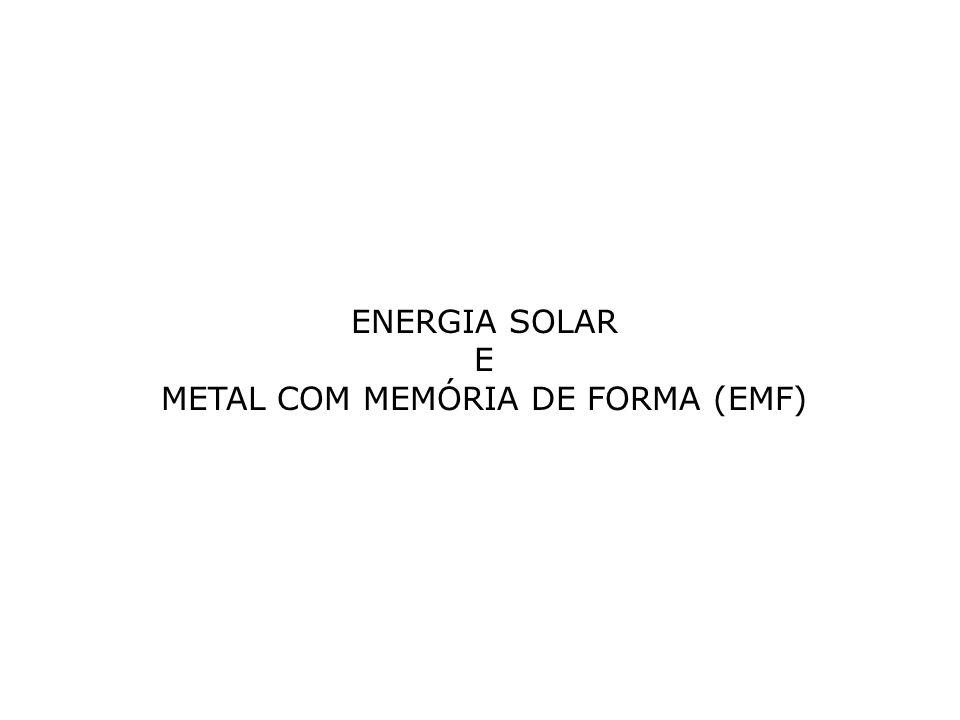 METAL COM MEMÓRIA DE FORMA (EMF)