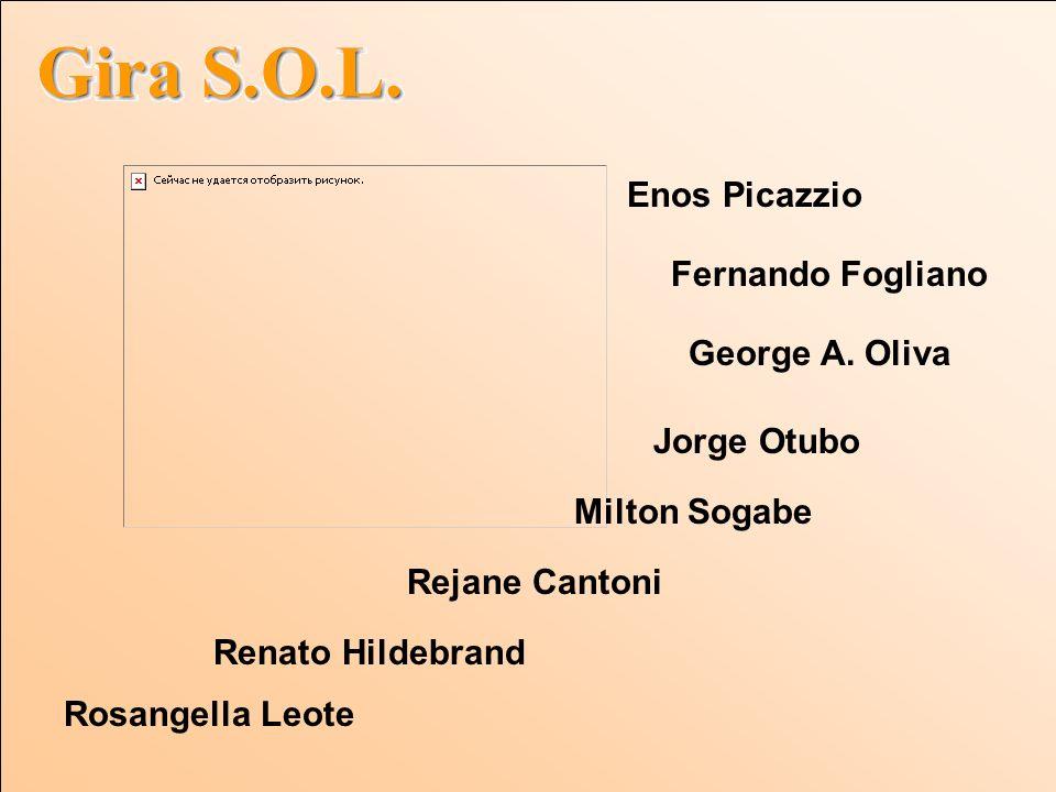 Enos Picazzio Fernando Fogliano. George A. Oliva. Jorge Otubo. Milton Sogabe. Rejane Cantoni. Renato Hildebrand.