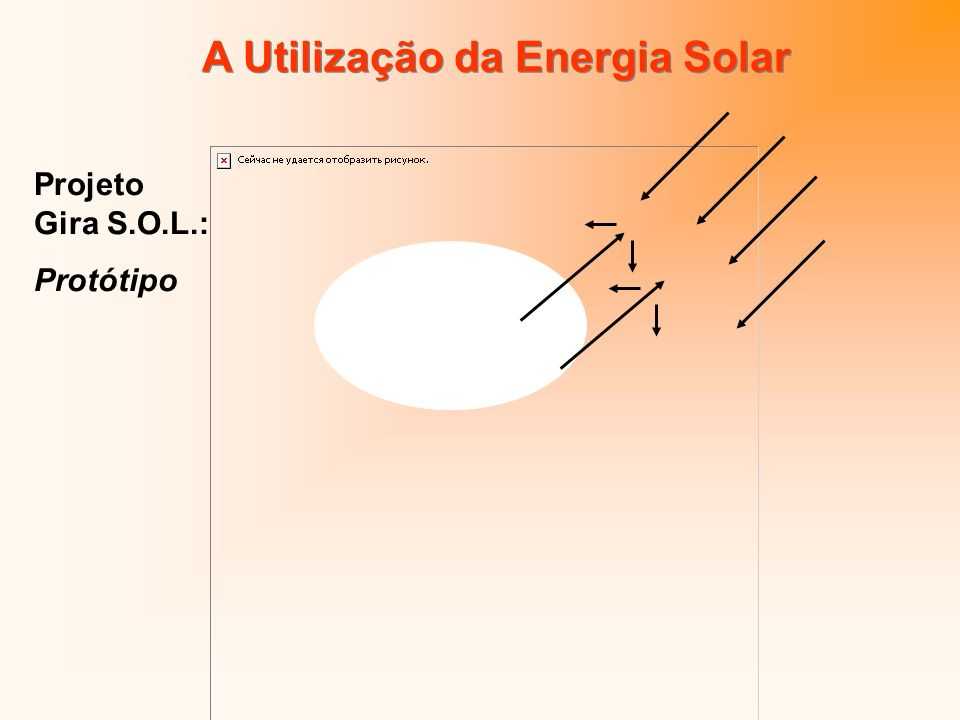 A Utilização da Energia Solar