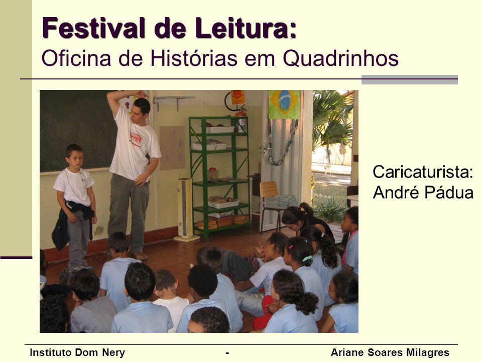 Festival de Leitura: Oficina de Histórias em Quadrinhos