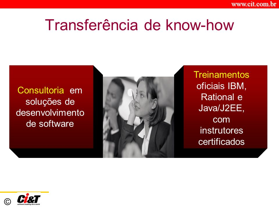 Transferência de know-how