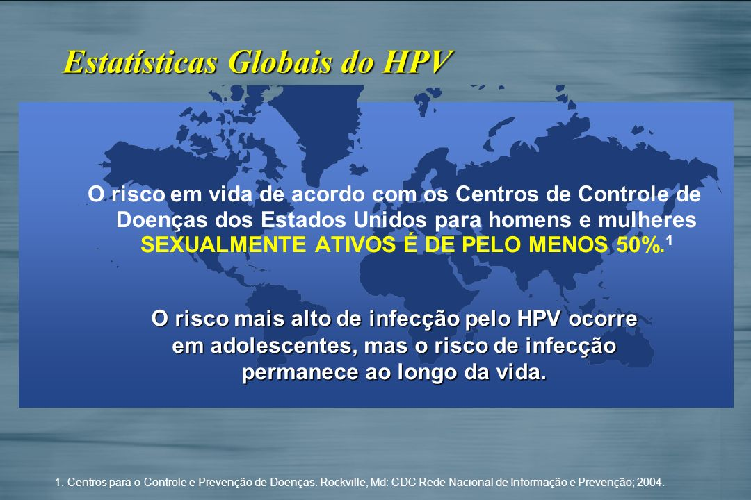 Estatísticas Globais do HPV