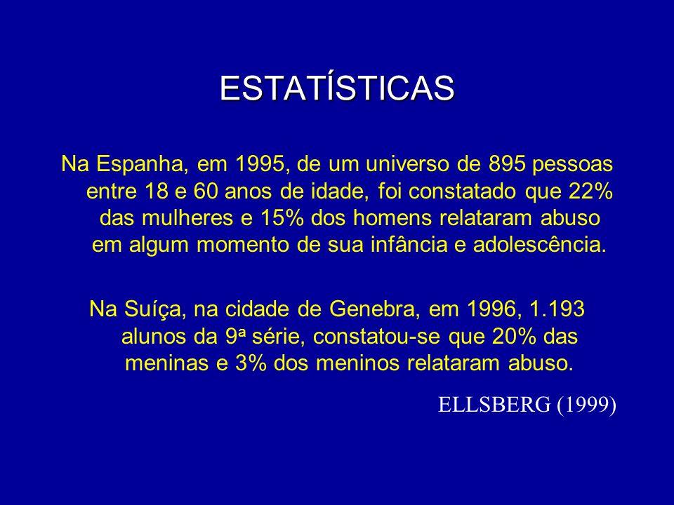 ESTATÍSTICAS ELLSBERG (1999)