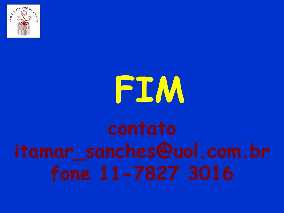 contato itamar_sanches@uol.com.br fone 11-7827 3016