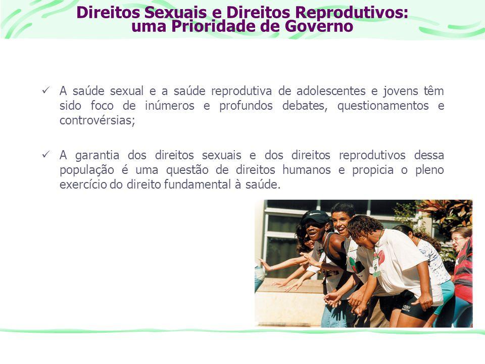 Direitos Sexuais e Direitos Reprodutivos: uma Prioridade de Governo
