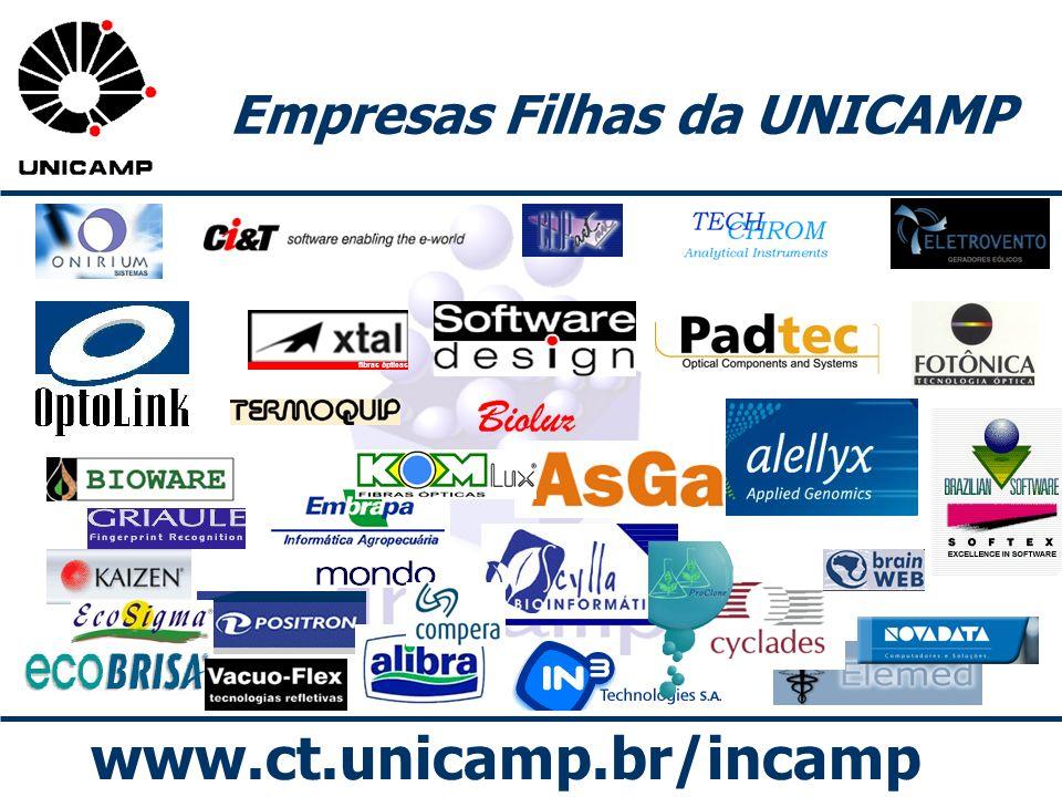 Empresas Filhas da UNICAMP