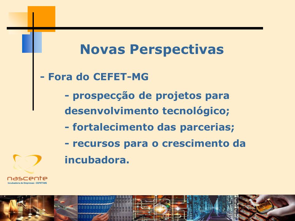 Novas Perspectivas - Fora do CEFET-MG