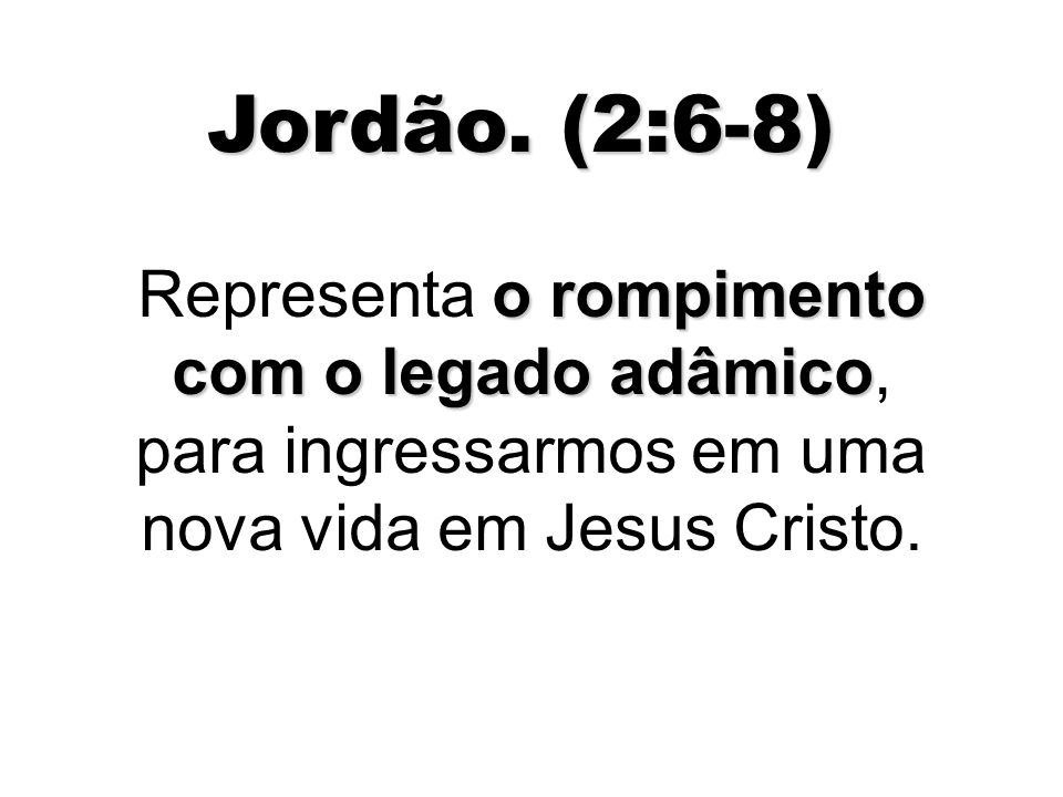 Jordão.