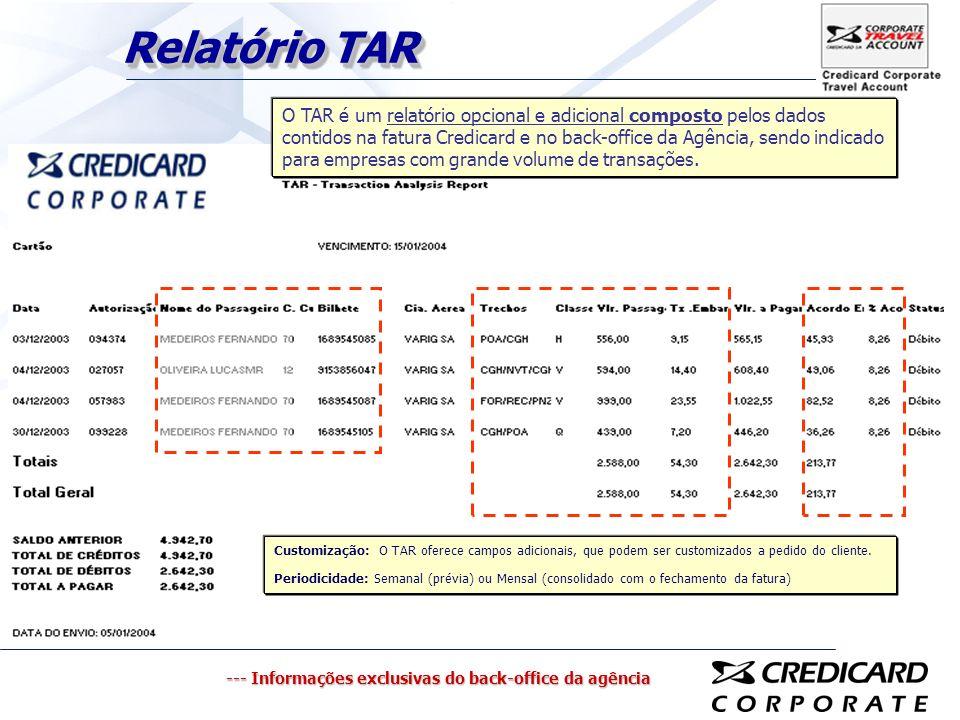 Relatório TAR