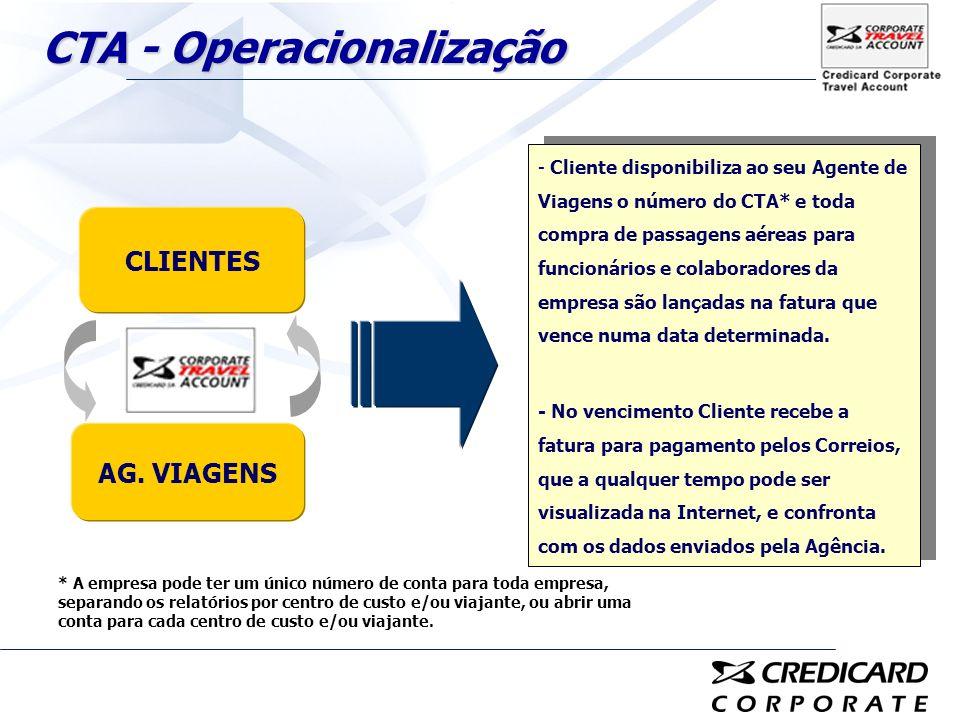 CTA - Operacionalização